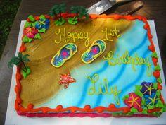 kids luau birthday cakes   Birthday cakes! - Mommies of two - BabyCenter