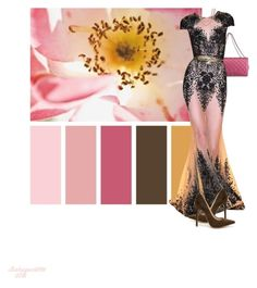 Design Seeds 1/5 Floral Center by babygurl7191 on Polyvore featuring moda, Shoe Republic LA, Chanel, Bling Jewelry and Zuhair Murad