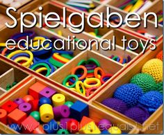 Spielgaben Educational Toys ~ review from 1+1+1=1