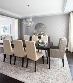 19 Graceful Dining Room Designs To Serve You As Inspiration