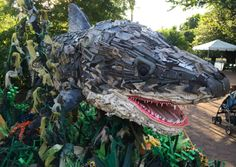 It's a bird! It's a pile of trash! It's…a bird made out of a pile of trash? Plastic pollution is a growing threat to our ocean, with an estimated eight million metric tons of plastic waste flowing ...