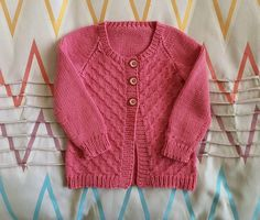 Merino wool pink girls cardigan, size 12 to 18 months baby, soft and warm woollen toddler sweater, hand knitted Winter girls clothes Toddler Sweater, Baby Girl Sweaters, Knitted Baby Clothes, Baby Cardigan, Wool Cardigan, Baby Month By Month, 18 Months, Baby Knitting, Pink Girl