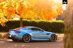 Aston Martin DB9 Color and wheels could be classier, but some folks just want to have fun.