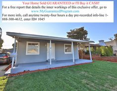 I Just Sold this 2br/ba, 784sf/7,500sf lot @ 917 S. Ramona St, San Gabriel, CA I still have over 621 buyers looking to buy in the area! Your Home Sold GUARANTEED or I'll Buy it CASH! For a free report that details the inner workings of this exclusive offer, go to https://lnkd.in/b8nEhds For more info, call anytime twenty-four hours a day pre-recorded info-line 1-888-300-4632, enter ID# 1045