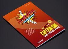 Ad photo for E-Booklet Vacation Bible School, Booklet, Superhero, Creative, Fun, Superheroes, Funny