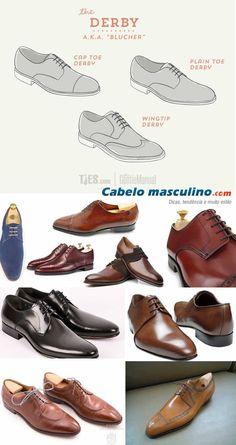 Conheça de uma vez por todas os tipos de sapatos masculinos e aprenda como usá-los em cada ocasião!