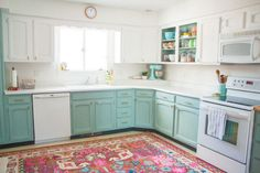 Chalk paint is good for more than just crafting—as it turns out, it was the key to making this remarkably inexpensive kitchen makeover possible.