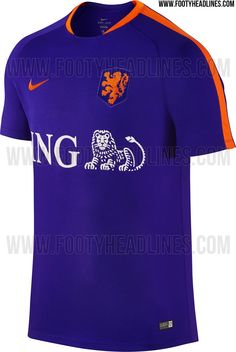 3e386bec884 Netherlands 2016 Pre-Match and Training Kits Leaked - Footy Headlines