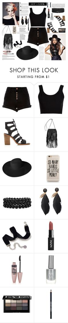 """""""Senza titolo #5339"""" by waikiki24 ❤ liked on Polyvore featuring River Island, Calvin Klein Collection, Dolce Vita, Yves Saint Laurent, Dorfman Pacific, Bling Jewelry, Sweet Romance, Maybelline, New Look and Bobbi Brown Cosmetics"""