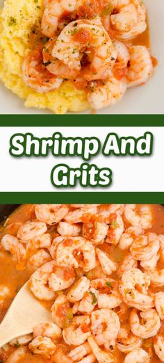Shrimp and grits are saucy, spicy, and delicious! This meal is elegant enough for a special occasion or holiday but it is fantastic every single day of the year! This is total comfort food!