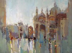 Barbara Flowers -Venice After the Rain