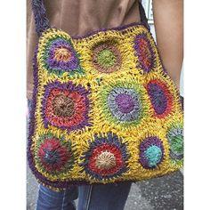 ヘンプかぎ編みショルダーバッグA - かばん、バッグ -【garitto. Crochet Bag Pinspiration! ☀CQ #crochet #bags #totes http://www.pinterest.com/CoronaQueen/crochet-bags-totes-purses-cases-etc-corona/