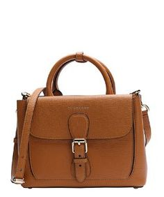 a6ca04898d66 Burberrycognac leather small convertible saddle tote Handbags On Sale, Tote  Handbags, Leather Handbags,
