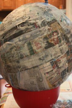 how to make a pinata, make your own pinata, party ideas, diy pinata | Moose tracks and Tater stacks