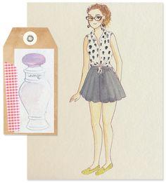 Fashion Illustration - Lavanda Pop, O Boticário