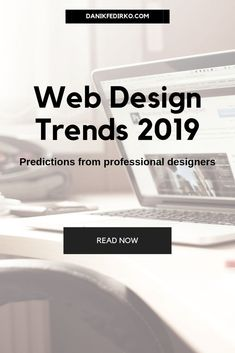 Web Design Trends 2019 [predictions from experts] Web design trends What will be popular in website design in User experience (ux) and user interface (ui) design trends 2019 Web Design Trends, Ui Design, Web Design Websites, Online Web Design, Web Design Quotes, Creative Web Design, Website Design Services, Web Design Agency, Web Design Tips
