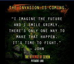 The Revenge of Seven quote
