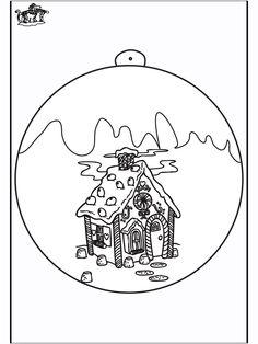 80 Beste Afbeeldingen Van Kleurplaten Kerstbal Diy Christmas