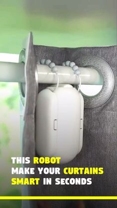 Automatic Curtain Opener Robot Related Best Home Automation Ideas For Your Smart Home In alarm clock forces you to get out of bed to shut it New Gadgets For. Clever Gadgets, Spy Gadgets, Cool Kitchen Gadgets, Cooking Gadgets, Electronics Gadgets, Cooking Tools, Cheap Gadgets, Future Gadgets, Cool Office Gadgets