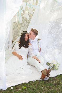 Gay wedding photos to admire: Hannah and Amy