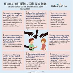 Mencegah Kekerasan Seksual Pada Anak – Keluarga Kita Gentle Parenting, Parenting Quotes, Kids And Parenting, Parenting Hacks, Child Development Psychology, Study Motivation Quotes, Charts For Kids, Psychology Quotes, Kids Education
