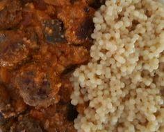 eat-culture: Fleischbällchen mit Mandel-Koriander-Sauce (Meatba...