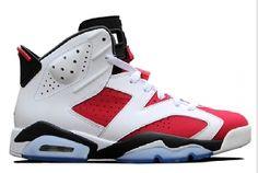$125.99 384664-160 Air Jordan 6 Carmine (White/Black-Carmine)  http://www.newjordanstores.com/