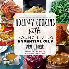 Here are some great ways to enjoy your Young Living Essential Oils while cooking holiday dishes this season. In Part One, you'll discover easy ways to add oils to your sauces andglazes and other t...