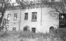 """Ipatiev House at Ekaterinburg,Russia in 1977 before its demolition. """"AL"""". Place where last Tsar and family were executed in the basement."""