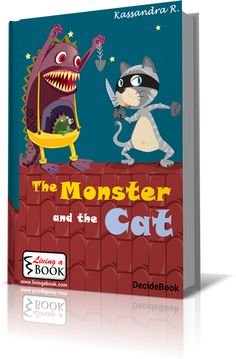 Living a Book - The monster and the cat.