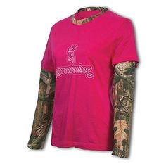 Browning Toddler Camo Mark S//S Light Pink