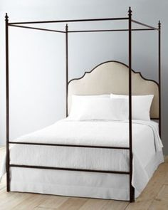 Allegra Iron Canopy Bed | Restoration Hardware Baby u0026 Child | adult bedroom | Pinterest | Iron canopy bed Canopy and Iron & Allegra Iron Canopy Bed | Restoration Hardware Baby u0026 Child ...
