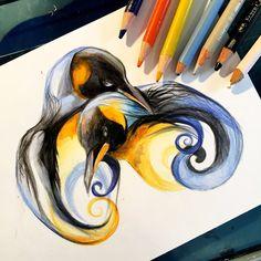 Penguin Design by Lucky978.deviantart.com on @DeviantArt