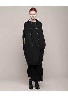 limi feu collarless barrel coat, $1710