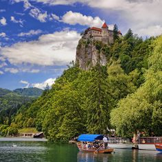 Slovenia - Lake Bled  (by Darrell Godliman)