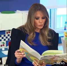 Today is your day: First Lady Melania Trump visited New York Presbyterian hospital on Thur...