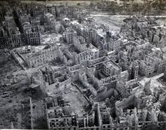 legacy-of:  Brest France 1944.Pictures of the old city and the http://ift.tt/1R5QzKm