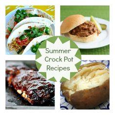 Summer Crock Pot Recipes