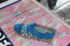Shoes designed by Leicester College students using Delcam CRISPIN ShoeMaker. College Fashion, Leicester, College Students, Longchamp, Designer Shoes, Fashion Show, Footwear, Tote Bag, Bags