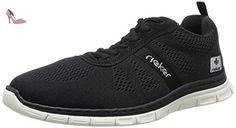 Rieker B4803/00, Baskets mode homme - Noir, 45 EU (10.5 UK) (11.5 US) - Chaussures rieker (*Partner-Link)