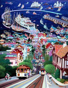 Hyde Street Pier ~ Alexander Chen