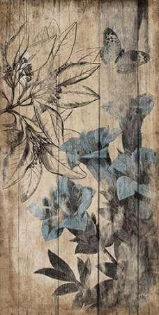Wood Floral Blue 2                                                                                                                                                                                 Más