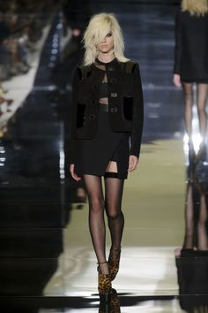 Tom Ford spring 2015 collection show.