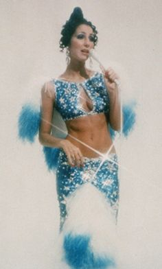 Cher in Bob Mackie on her TV show