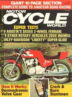 1976 May Motorcycle World Magazine Back-Issue