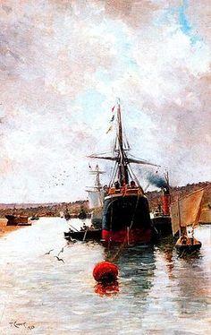 El carguero Avilés es una pintura del artista español Tomás Campuzano y Aguirre.1 Pintada en 1885, el lienzo es una marina que muestra las cercanías de un muelle y, en primer plano, una serie de barcos.1 Entre estos barcos destaca un carguero que aparece rotulado con el nombre Avilés.1 El nombre del carguero vendría dado por la amistad del pintor con Ángel Avilés Merino.1  El cuadro perteneció a la colección de arte de Ángel Avilés Merino.1 En 1922, dos años antes de su muerte, donó su…