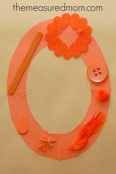 O craft 6 Letter O Crafts for Preschool & Kindergarten