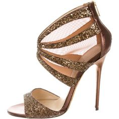 Designer Clothes, Shoes & Bags for Women Bronze Shoes, Metallic Shoes, Brown Sandals, Shoes Sandals, Jimmy Choo Shoes, New York Fashion, Marie, Celebrity Style, Kitten Heels