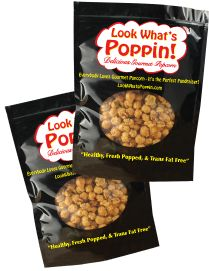 Free prize program! Sell 14 bags of popcorn and you get 2 FREE bags!