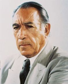Anthony Quinn, actor - 04/21/1915 to 06/03/2001
